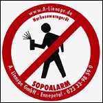Sopo Alarm sticker